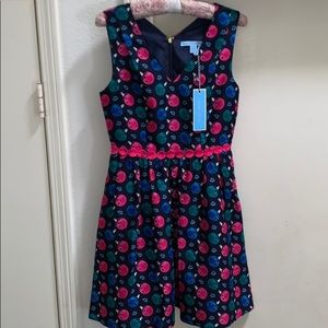 NWT Draper James Jingle Dots Gracie Dress 0 12